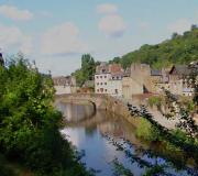 River Rance & The old Port Dinan Brittany