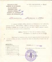Authorization to cross the Lake Chad region