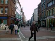 Grafton Street in the fall