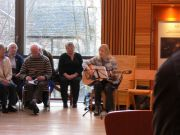 Beautiful songs by Scots Music Group in TheScottish Storytelling Centre
