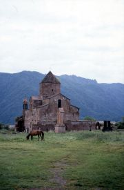 The basilica in the village of Odsun