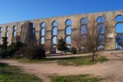 The aqueduct at Elvas