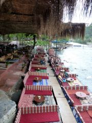 Restaurant at Saklikent Gorge