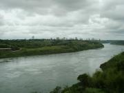 Foz du Iguacu from the Friendship Bridge