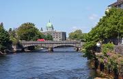 River Corribe an Galway Cathedral