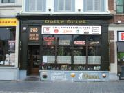 The Dulle Griet, which is also the name of a cannon that can be seen near the bar