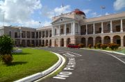 The Guyana Parliament building