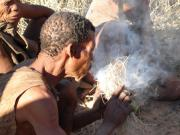 The local San People