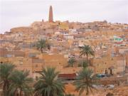 View of the old town of Ghardaia