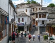 Main Bazaar in Gjirokaster
