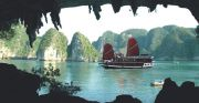 Halong Bay travelogue picture