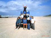 our group on Fraser Island