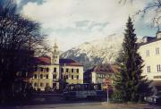 View from the touristic town of Bad Reichenhall