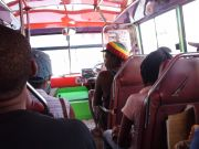 Ride On A Local Raggae Bus!!