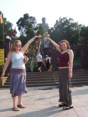 We thought we were so clever, holding Buddha in our hands.