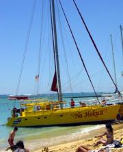 Waikiki sun sea sand and sailing