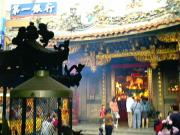 One of Hsinchu's biggest temples