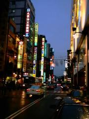 Hsinchu is busy at night