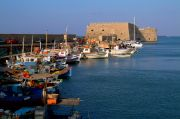 Fishing harbour and the fort