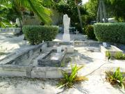 Historical beach graveyard