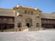 Amber Palace at the fort complex.