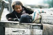 Children playing at Muktinath
