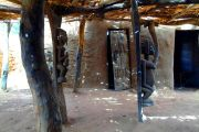 Dogon's village chief's house - shaded space designed for congregations, meetings, discussions...
