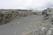 Meeting place between the American and European continental plates