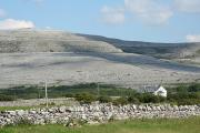The Burren, polished limestone stretching in every direction