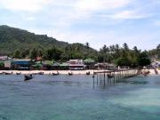 Arriving to Koh tao