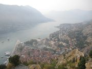Kotor from the fort