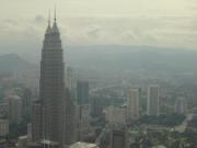 Petronas and KL from Menara Tower