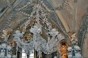 Chandelier made of bones