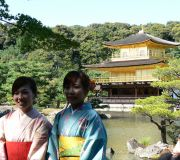Golden Pavilion  or Kinkaku