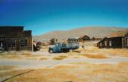 Truck and houses in Bodie