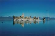 Bizarre tufa formations in Mono Lake
