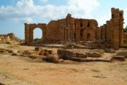 The Hadrian's Baths of Leptis Magna