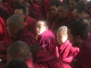 Monks, very young monks.