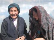 The people. Ferry to samye on the yellow river. Crystal clear water + Laughing Tibetans = priceless