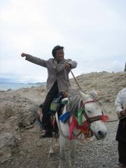 Lhaba- our trusty guide and Tibetan Cowboy