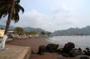 Beachfront in the centre of Limbe