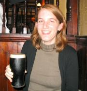 me and my very first Guinness