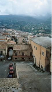 Castelbuono, down from castle, [cafe to left]