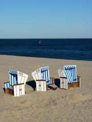 There are over 13,000 of these beach baskets on Sylt