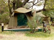 Permanent tents - The Zambezi Waterfront