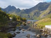 Lofoten's landscape is really variuos and fascinating
