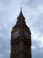 The tower where Big Ben hangs.