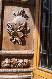 Detail of door panel, Frenze Cathdral