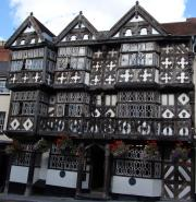 The Feathers Hotel - One of the best Half Timbered  Buildings in England