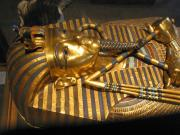 King Tutankhamen, as displayed at the Egyptian Museum